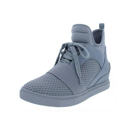 Steve Madden Womens Lexi Neoprene Hidden Wedge Fashion Sneakers ()