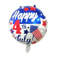 KABOER 5 Pcs 4th of July Balloons American-Flag-Patriotic Foil Balloons Independence Day Party Supplies Decorations