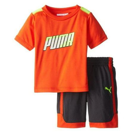 Puma Infants / Toddlers / Kids Formstripe Perf Jersey Shirt & Shorts Set, 2