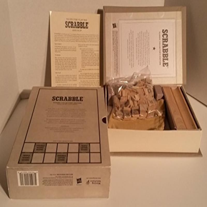 Scrabble Classic Collector's Edition by
