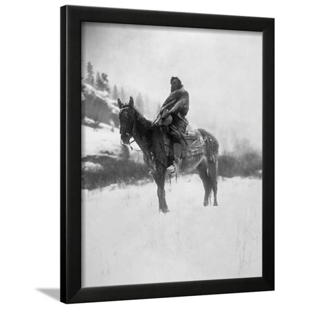 Curtis: Scout, 1908 Framed Print Wall Art By Edward S. Curtis