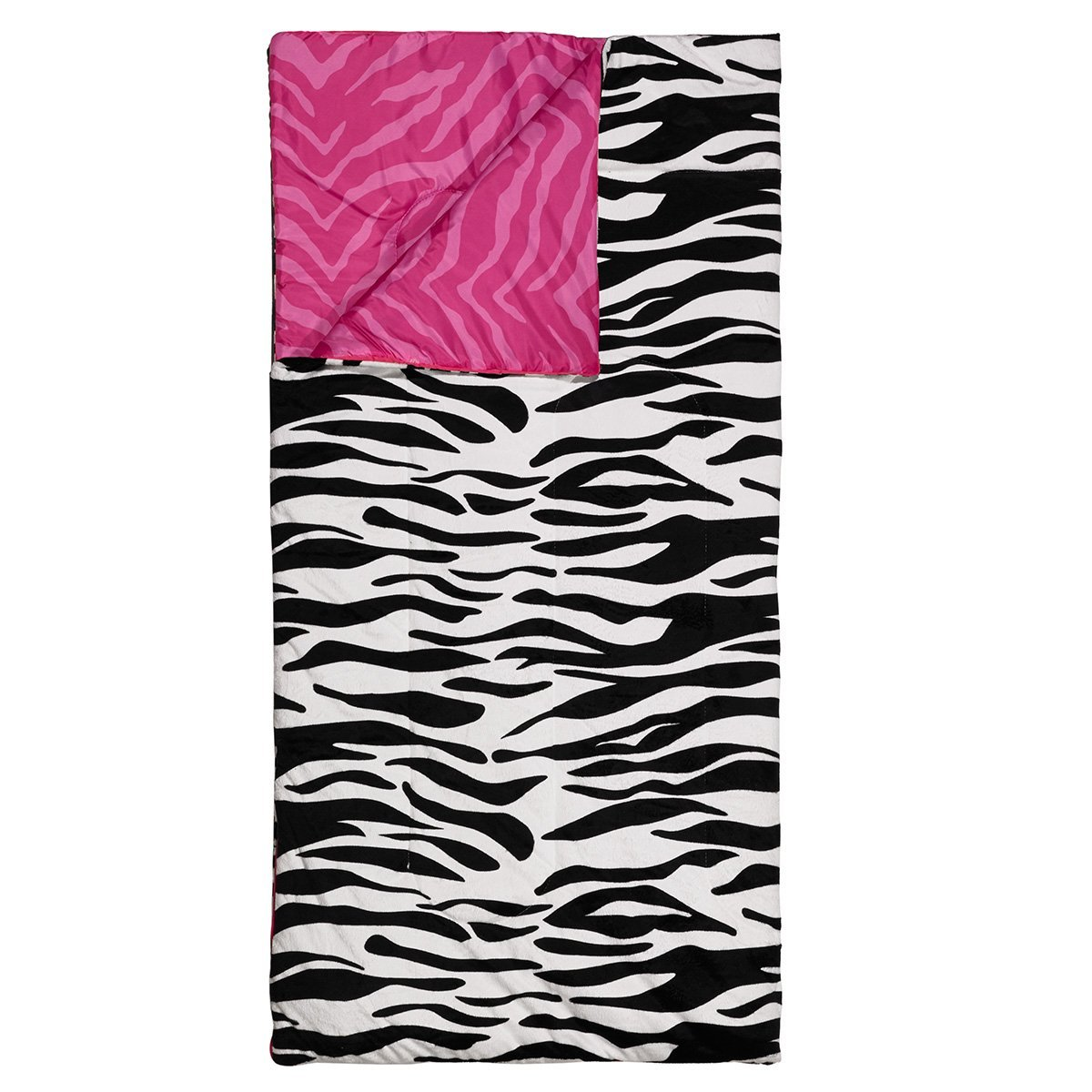 Three Cheers 3C4G Reversible Sleeping Bag, Zebra-licious