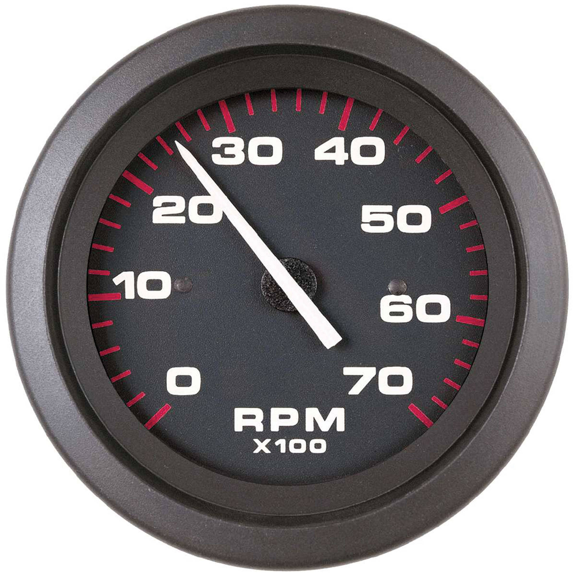 SeaStar Solutions Amega Electric Tachometer for O/B & 4-Stroke Gas Engines