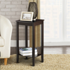 Set of 2 End Table Living Room Bedside Sofa Table Nightstand Wooden Side Table