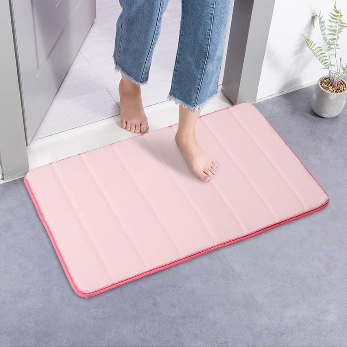 32''x20'' Non-slip Soft Comfortable Memory Foam Absorbent Bath Bathroom Bedroom Kitchen Dorm Floor Shower Rug Carpet Home Decal 80x50cm