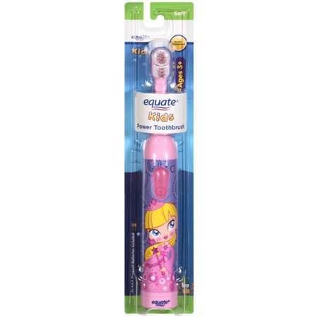 Equate Kids Soft Power Toothbrush  1 Ct