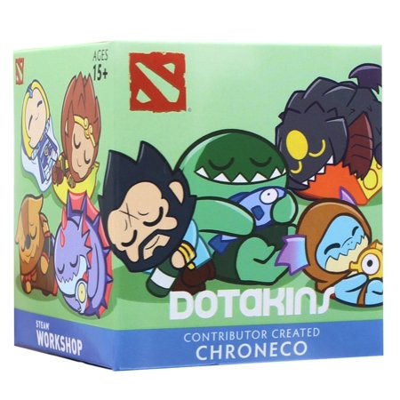 DOTA 2 Dotakins Blind Box Vinyl Series 1 - One Random - Dota 2 Halloween Items