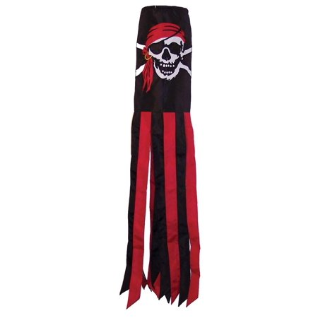 I'm a Jolly Roger Windsock, 40-Inch, In The Breeze Item #4103 - 40-inch I'm a Jolly Roger Windsock is made with durable polyester fabric that is.., By In the (Make Pinwheel)