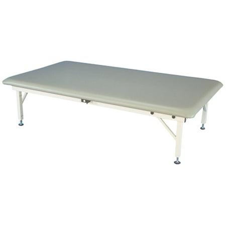 Bariatric Mat Platform Table - Electric Hi-Low, Steel Frame, 84