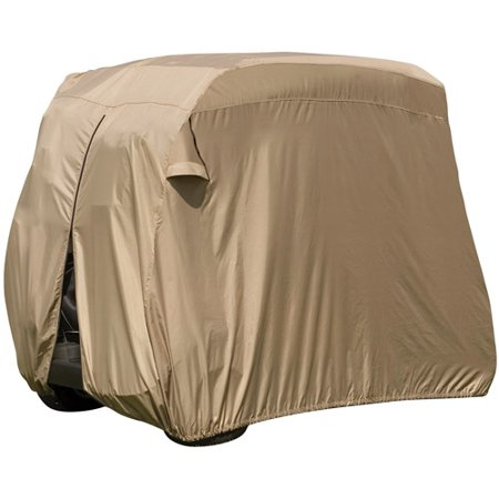 Classic Accessories Fairway Golf Car Easy-On Storage Cover, for 4-Person Golf Cart by