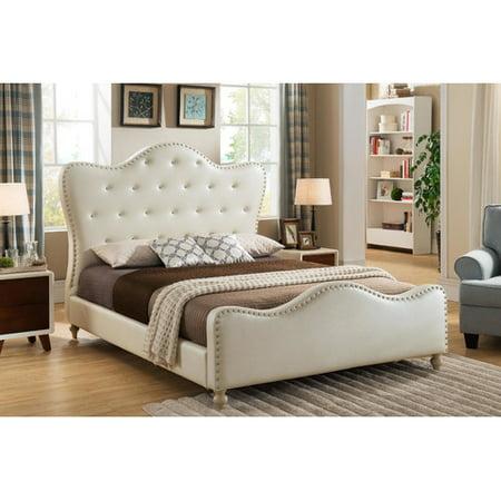 Willa arlo interiors ackman upholstered platform bed - Willa arlo interiors keeley bar cart ...
