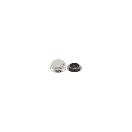 MACs Auto Parts  41-38316 Master Cylinder Filler Cap - Drum Brakes - Chrome - Comet