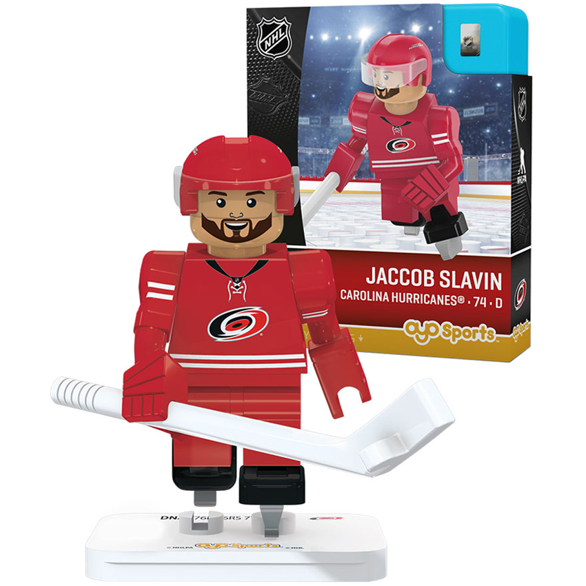 Jaccob Slavin Carolina Hurricanes OYO Sports Player Minifigurine - No Size