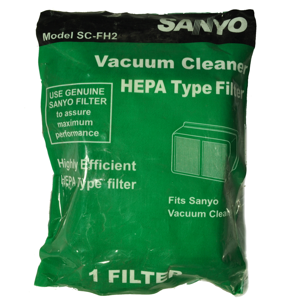 Sanyo Model SC-X2100P, SC-FH2 Canister Vacuum Cleaner Filter