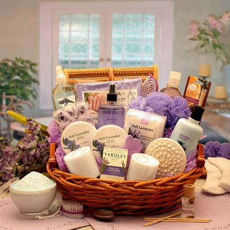 Gift Baskets Canada Spa - Gift Basket 8413112 The Essence of Lavender Spa Gift Basket