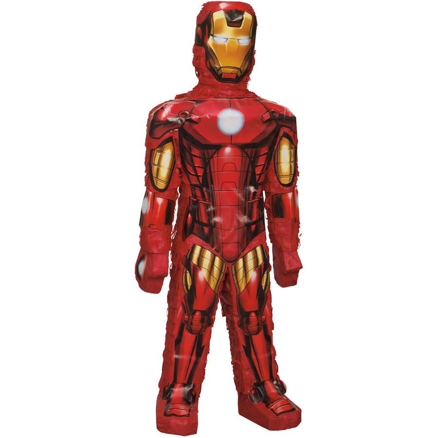 Iron Man Pinata, 24 x 8.5 in, 1ct