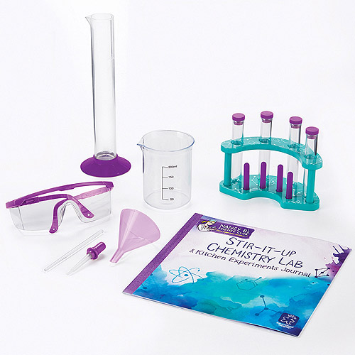 Educational Insights Nancy B's Science Club Stir-It-Up Chemistry Lab & Kitchen Experiments Journal by Learning Resources