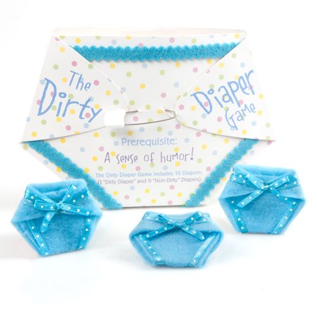 The Dirty Diaper Game - Baby Shower Game - Blue (10 diapers)](Dirty 30 Party Ideas)