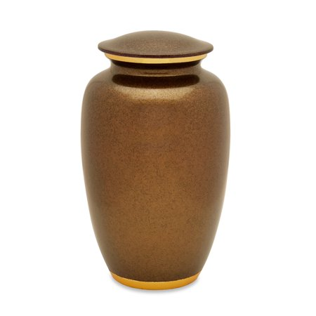 Antique Gold Urn - Urnsdirect2u Golden Memories Adult Cremation Urn, 220 cubic inches