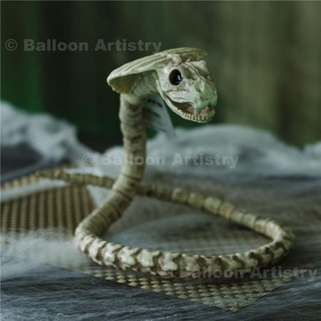 Bones Cobra Poseable Skeleton Prop Decoration