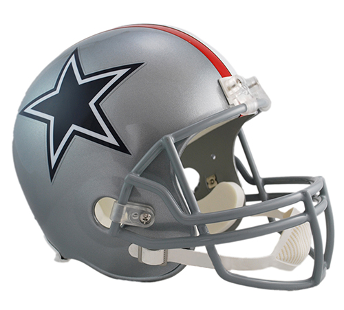 Riddell Dallas Cowboys Replica Helmet - Vsr4 - 1976 Throw...