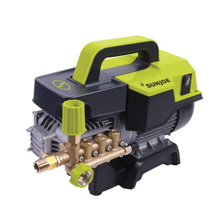 Sun Joe SPX9004-PRO Commercial Series Cold Water Electric Direct Drive Crank Shaft Pressure Washer   1300 PSI Max   2 GPM Max   2.15 HP Motor   120 Volt   Wall Mount
