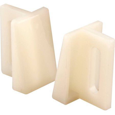 Slide-Co 161138 Pocket Door Bottom Guide, Nylon, 2pk