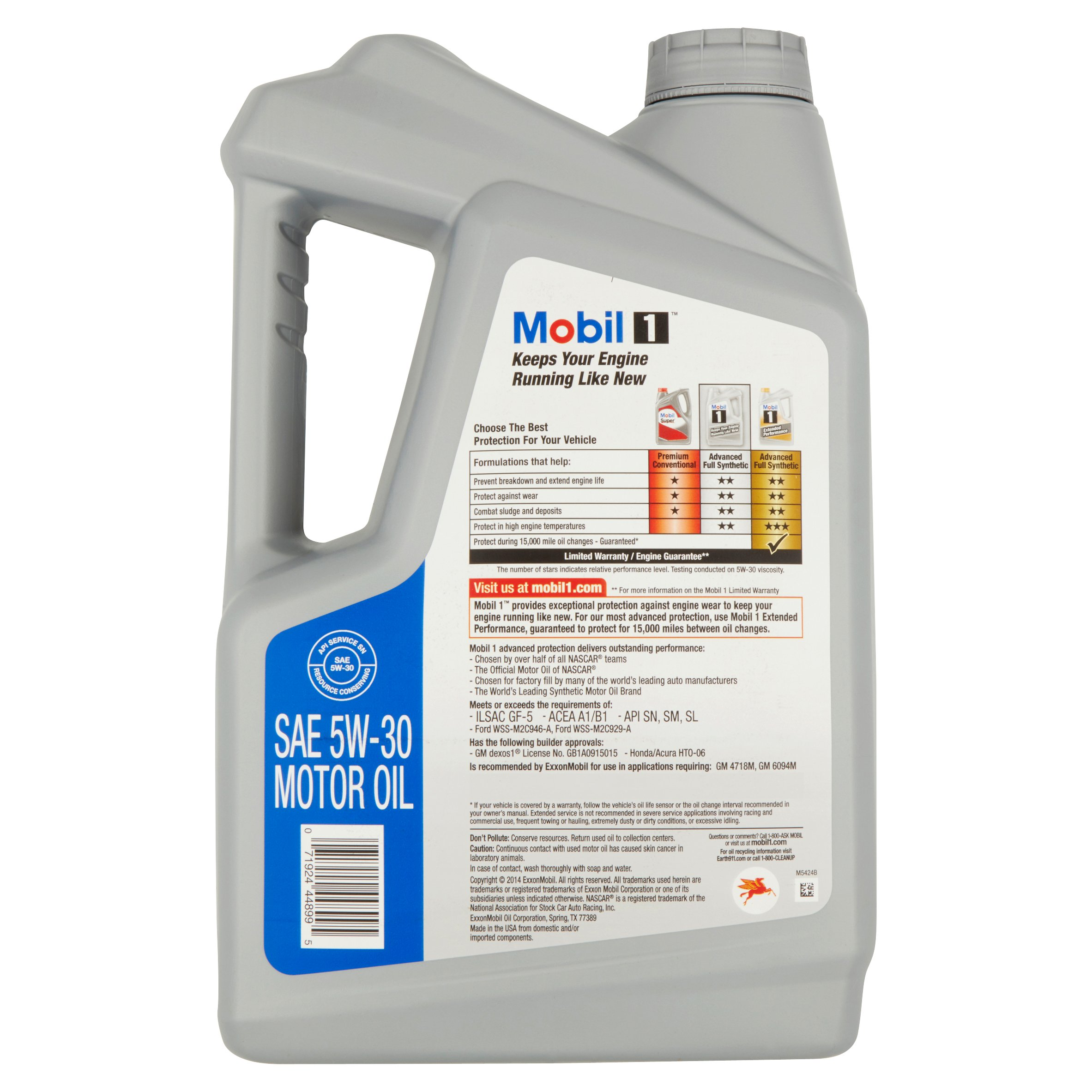 Keep your engine running like new with the help of this Mobil 1 0W Full-Synthetic Motor Oil. It is an advanced full-synthetic engine oil that is designed to provide exceptional wear protection, cleaning power and overall performance.