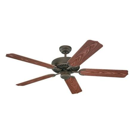 Monte Carlo 5WF52RB Weatherford 52 in. Indoor / Outdoor Ceiling Fan - Roman Bronze - ENERGY STAR ()