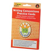 Brain Blasters Writing Conventions Practice Cards - Grade 5
