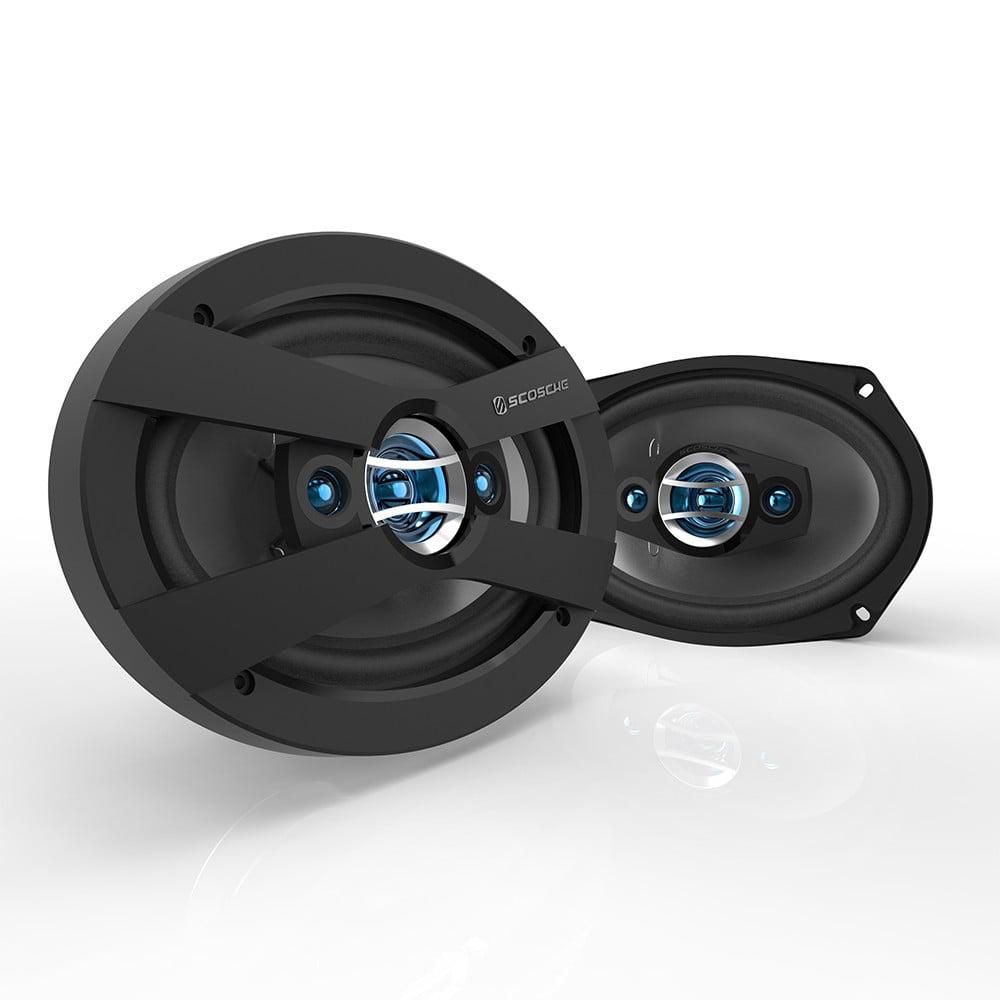 "Scosche HD6904F - HD Speakers | Speakers for Cars | 6x9"" Set"