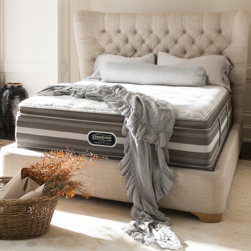Simmons Beautyrest BeautyRest Recharge World Class Argos Luxury Firm Mattress