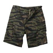 Tiger Stripe Camouflage Military Style BDU Shorts