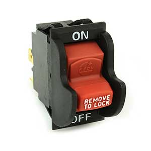 Superior Electric SW7A On-Off Toggle Switch rep Delta 489105-00 Porter Cable Ryobi/Ridgid 46023 - SW7A