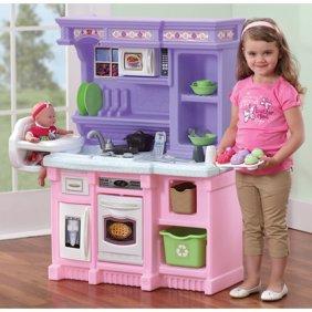 My very own ice cream cart role play pretend play set walmart step2 little bakers kitchen with 30 piece accessory set teraionfo