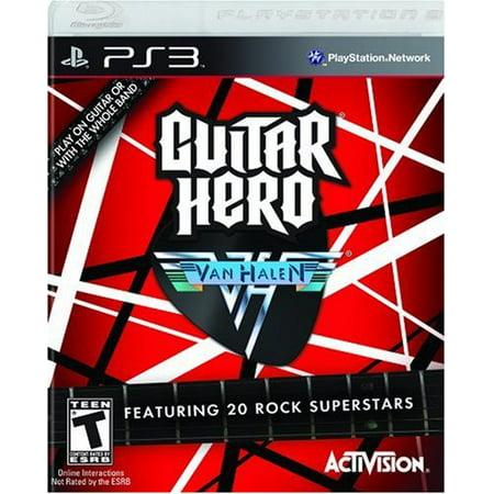 Guitar Hero Van - Guitar Hero: Van Halen (PS3)