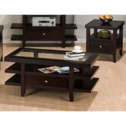 Jofran Marlon Wenge Rectangular 3 Piece Coffee Table Set