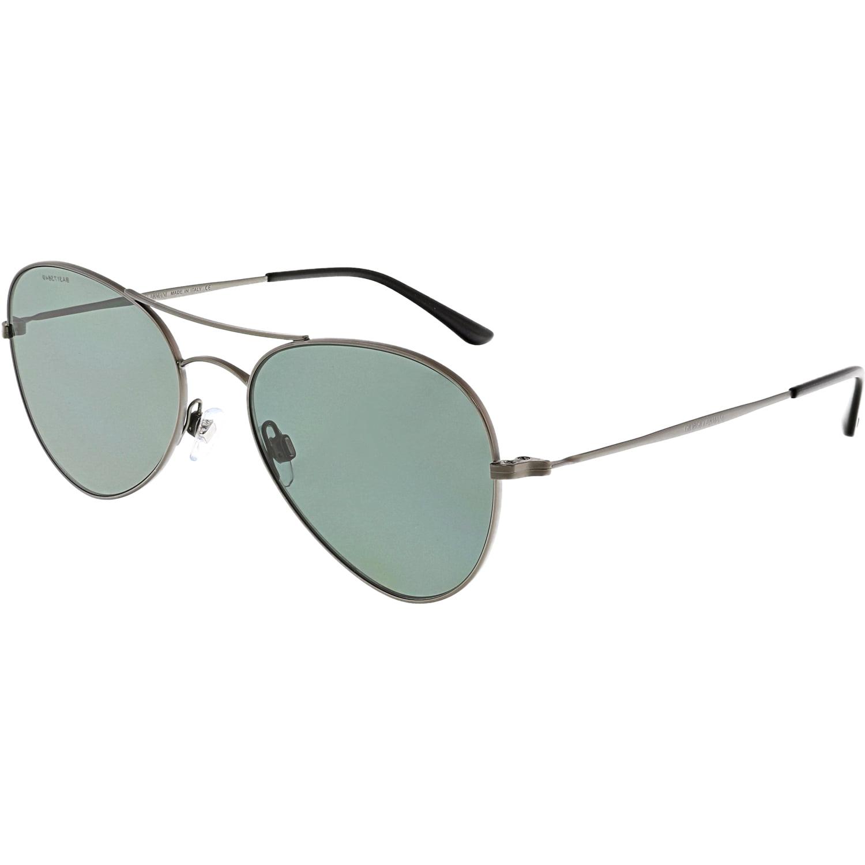 23f793f285c3 Giorgio Armani Men s AR6035-300371-54 Grey Aviator Sunglasses ...