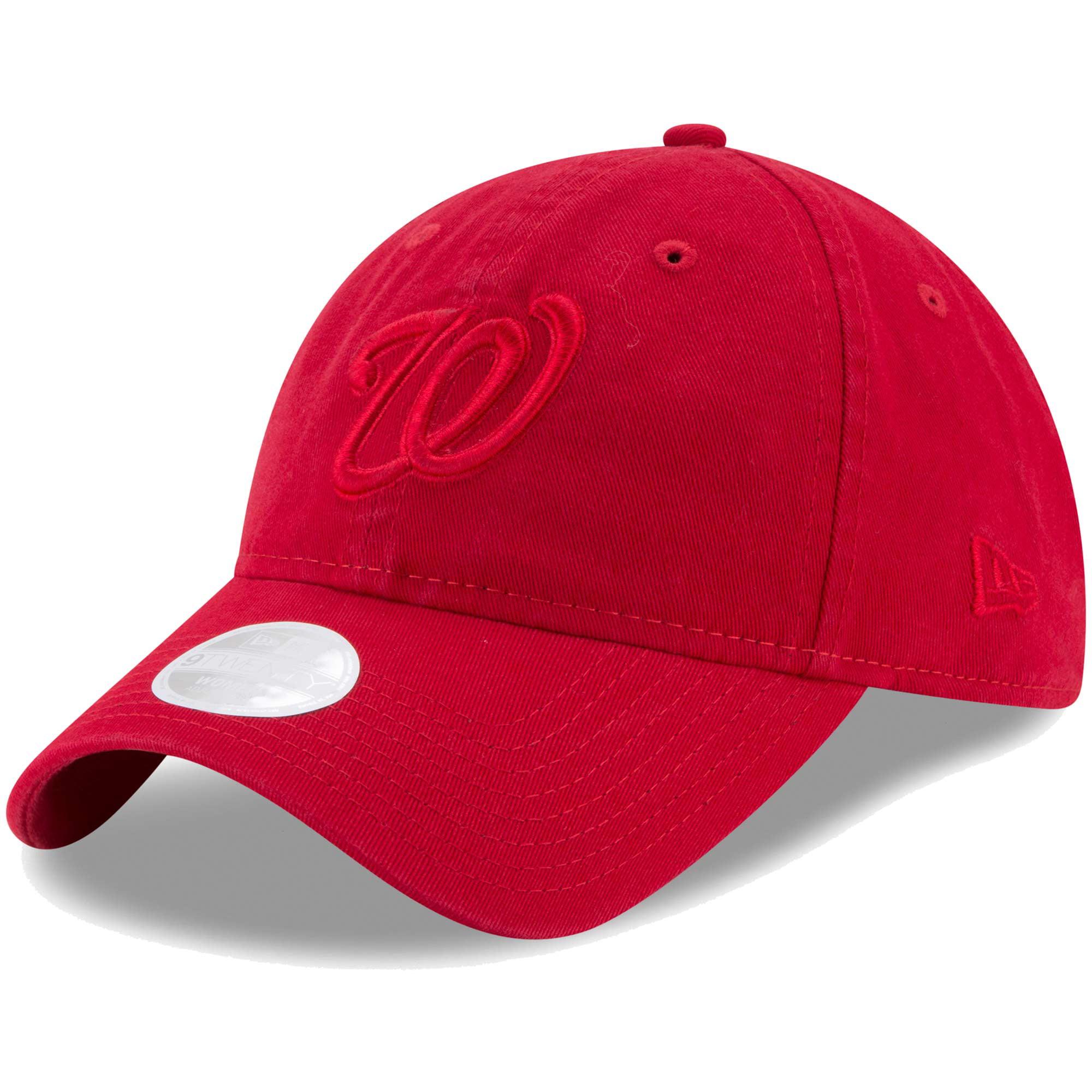 Washington Nationals New Era Women's Preferred Pick Tonal 9TWENTY Adjustable Hat - Red - OSFA
