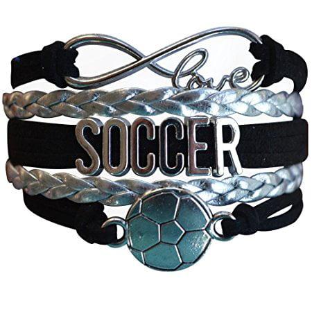 Soccer Bracelet- Girls Soccer Bracelet- Soccer Jewelry - Perfect Gift For Soccer - Soccer Jewelry