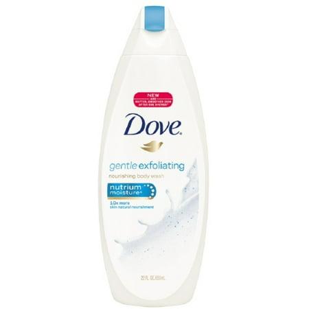 Dove Gentle Exfoliating Nourishing Body Wash 22 Oz Pack