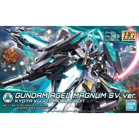 Bandai Hobby Build Divers Gundam AGEII AGE II Magnum SV Ver. HG 1/144 Model Kit