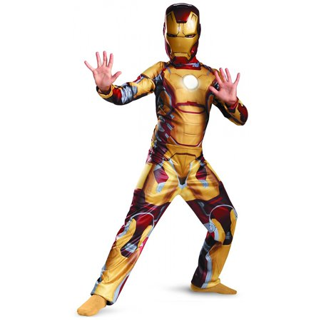 Iron Man Mark 42 Classic Child Costume - Small](Iron Man Child Costume)