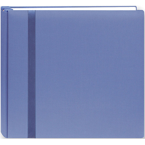 """Pioneer Snapload Scrapbook Cloth With Ribbon, 8"""" x 8"""""""