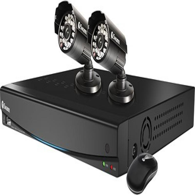 Swann Advanced-series Security Recording Kit Dvr-4-1400 4 Channel DVR & 2 Pro-510 Cameras