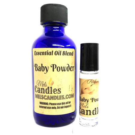 Mels Candles And More Combo Baby Powder Combo 4oz 118