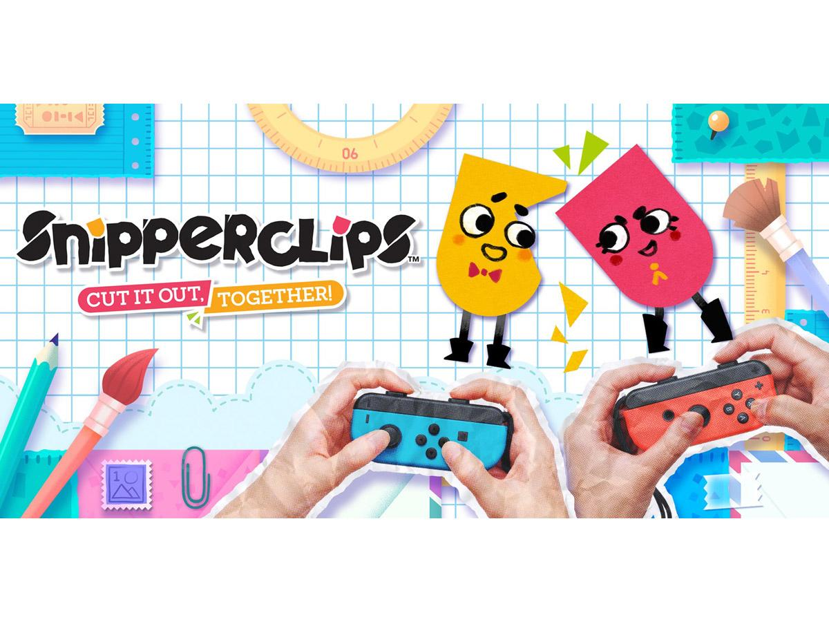 Nintendo Snipperclips Cut it out together Switch