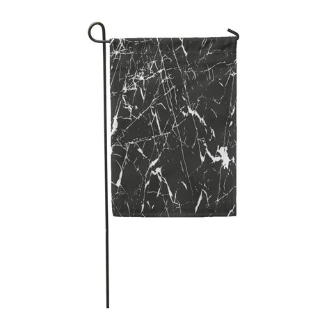 NUDECOR Crack Distressed Overlay of Rusted Peeled Metal Abstract Halftone Garden Flag Decorative Flag House Banner 28x40 inch - image 1 of 1