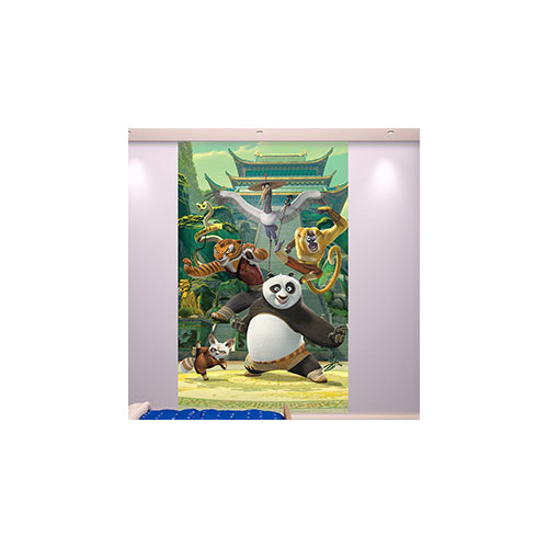 Brewster Home Fashions Walltastic Kung Fu Panda Wall Mural
