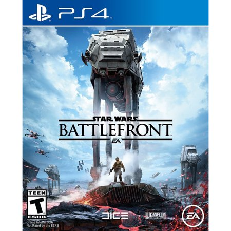 Star Wars Battlefront, Electronic Arts, PlayStation 4,